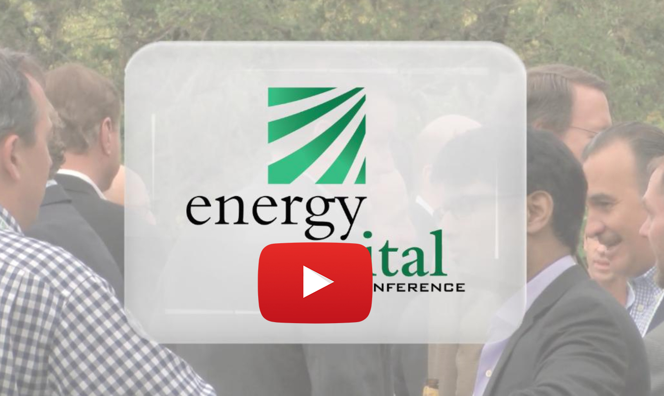 Energy Capital Conference Networking Video
