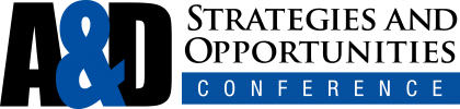 A&D Strategies and Opportunities Conference logo (black)