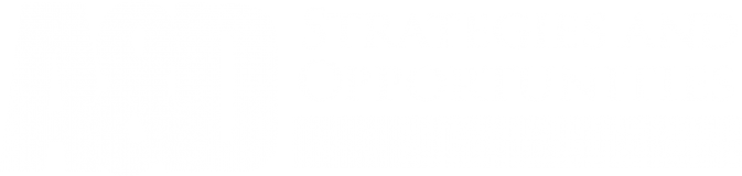 A&D Strategies and Opportunities Conference logo (white)